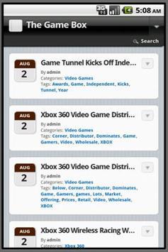 The Game Box screenshot 1