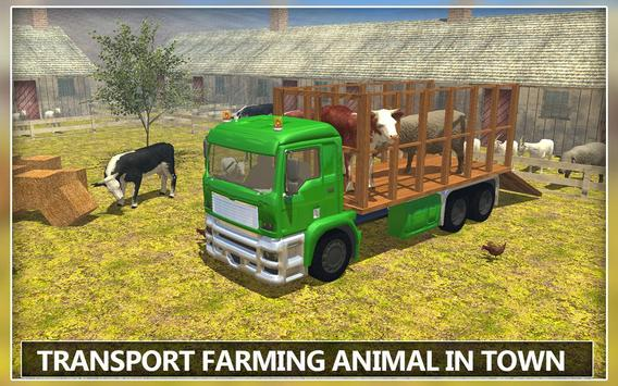 Farming Animal Transport Drive apk screenshot