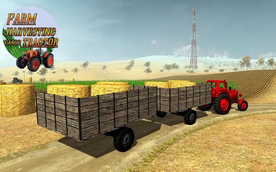 Farm Harvesting Cargo Tractor apk screenshot