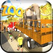 Zoo Animals Transporter 3d icon
