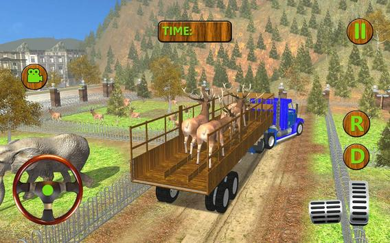 Zoo Animals Transporter 3d poster