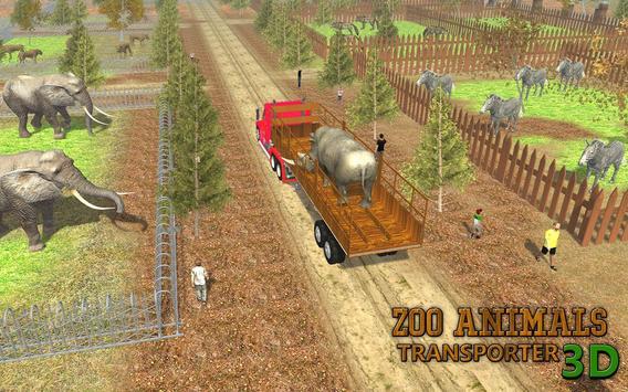 Zoo Animals Transporter 3d apk screenshot