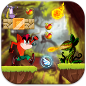 Bandicoot Run jungle Adventure icon