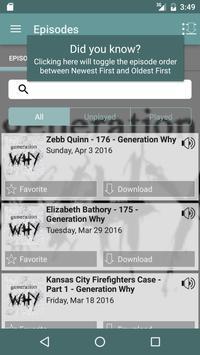 Generation Why apk screenshot