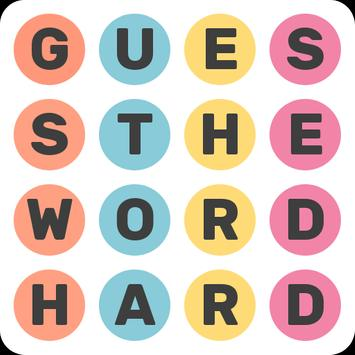 Guess the word - Hard mode poster