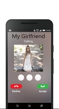 Call From Girlfriend apk screenshot