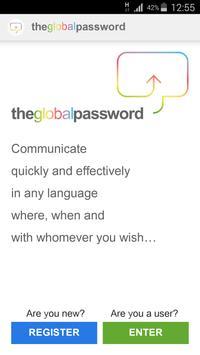 Theglobalpassword poster