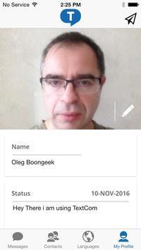TextCom apk screenshot