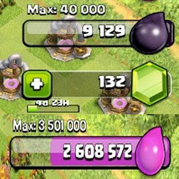 Cheats for Coc Gems and Coins apk screenshot