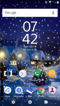 New Years holidays   Live Wallpaper   Xperia Theme poster