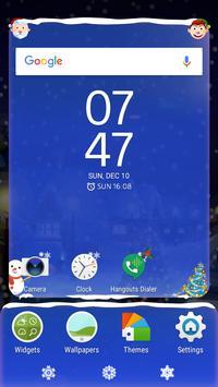 New Years holidays   Live Wallpaper   Xperia Theme screenshot 3