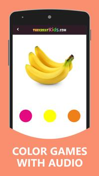 Shapes and Color For Kids poster