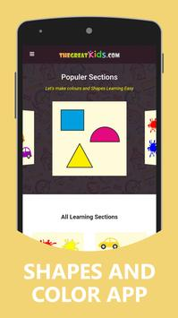 Shapes and Color For Kids screenshot 11