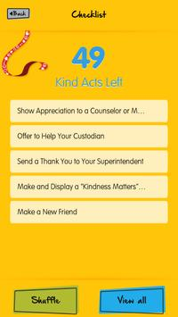 The Great Kindness Challenge screenshot 2