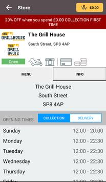 The Grill House screenshot 2