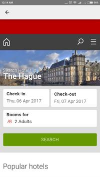 The Hague Hotels poster