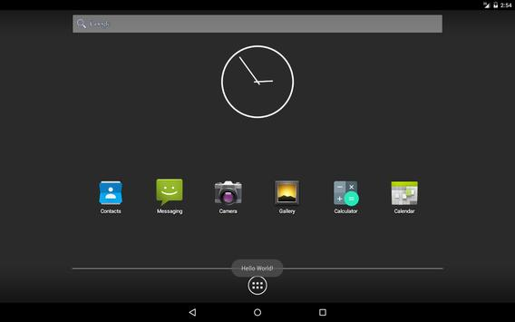 Hello World: Toast - the simplest Android app? apk screenshot