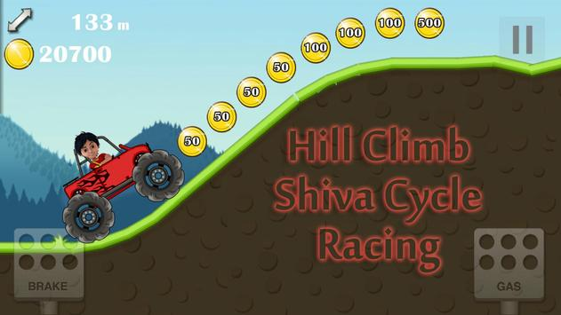 Hill Climb Shiva Cycle Racing apk screenshot