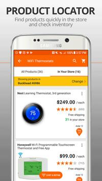 The Home Depot apk screenshot