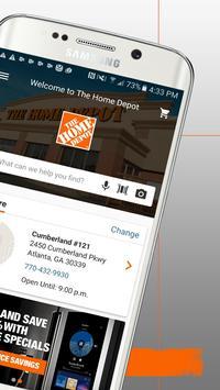 The Home Depot apk screenshot