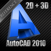 AutoCAD 2010 Reference 2D - 3D icon
