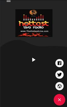 The Hottest Live Radio screenshot 1
