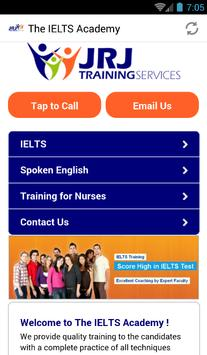 the ielts academy poster