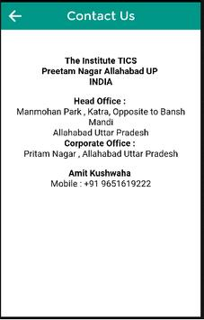 The Institute TICS Allahabad screenshot 2