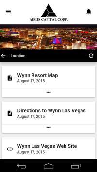 2015 Aegis Conference screenshot 3