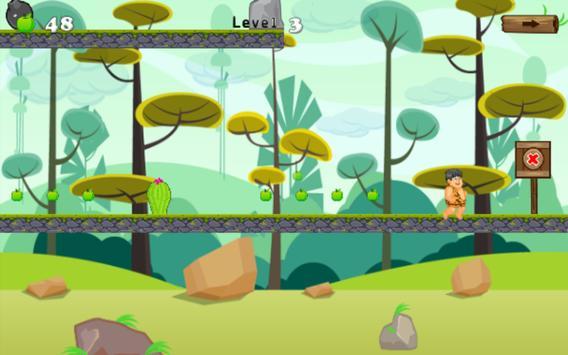 adventures of jungle caveboy screenshot 1