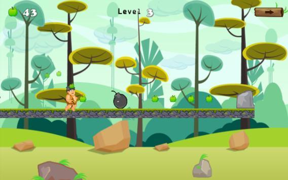 adventures of jungle caveboy screenshot 2