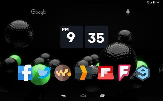 Golf Theme Live Wallpaper apk screenshot