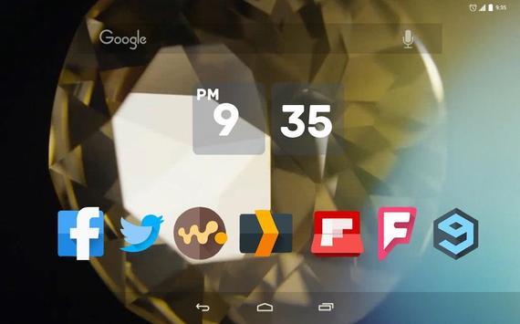 Diamonds Live Wallpaper apk screenshot