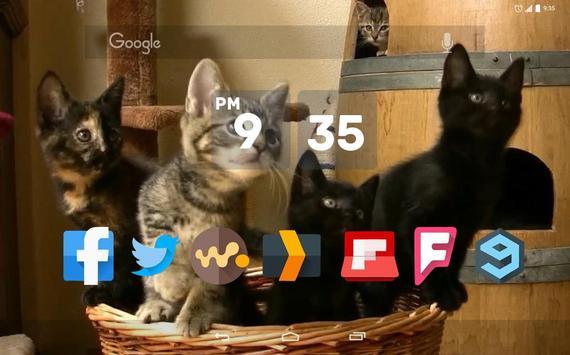 Kittens Dancing Live Wallpaper apk screenshot