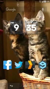 Kittens Dancing Live Wallpaper poster