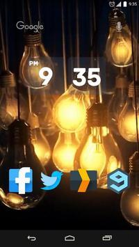 Light Bulbs Live Wallpaper poster