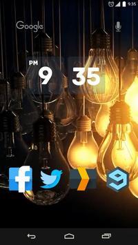 Light Bulbs Live Wallpaper apk screenshot