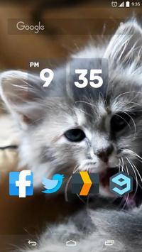 Sweet Kitten Live Wallpaper apk screenshot