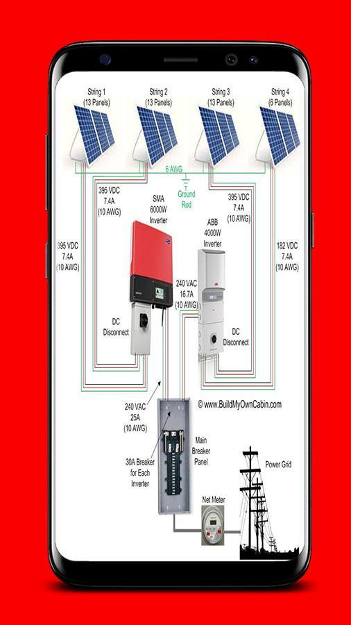 solar panel wiring diagrams for android  apk download