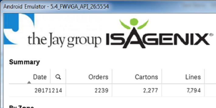 The Jay Group Isagenix Dashboard (Unreleased) apk screenshot