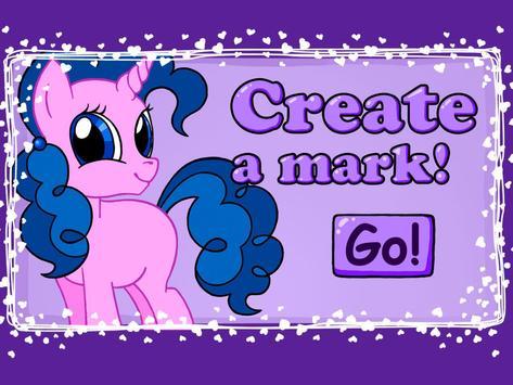 Pony Cutie Marker poster