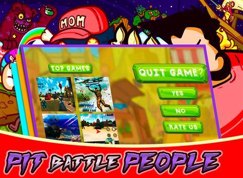 Pit Battle People screenshot 2