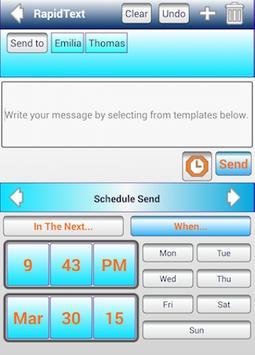 SMS Schedule,Group Text,Labels apk screenshot