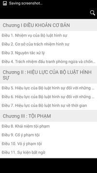 LUAT HINH SU apk screenshot