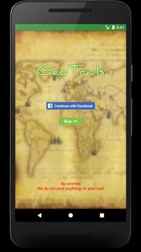 Geotrails screenshot 1