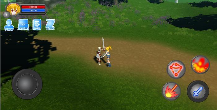 Monster Hunter: Forest magic screenshot 1
