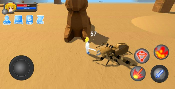 Monster Hunter: Forest magic screenshot 4