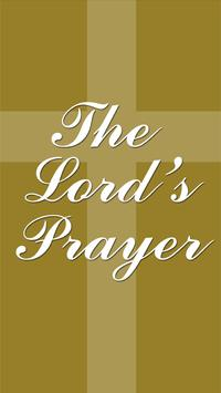 The Lord's Prayer & Blessings poster