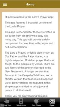 The Lord's Prayer & Blessings apk screenshot