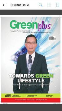 Greenplus Magazine poster